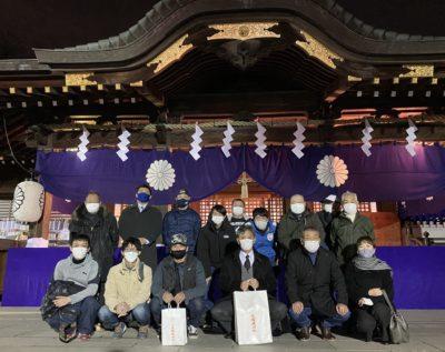 2021年 安全祈願(大國魂神社にて)